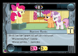 My Little Pony Blankest Flanks Marks in Time CCG Card