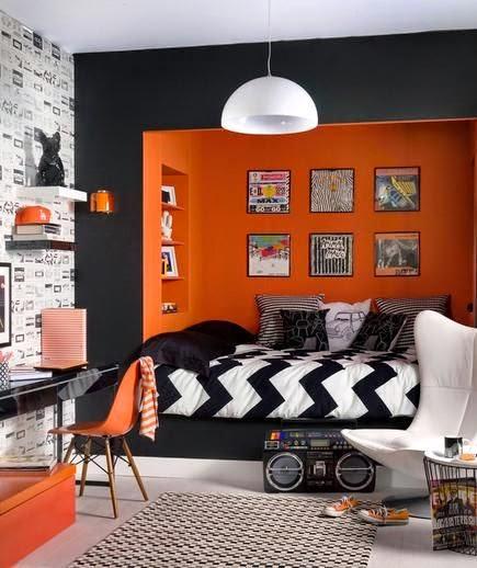 Boys Room Designs Ideas Inspiration: Quarto Adolescente Decorado