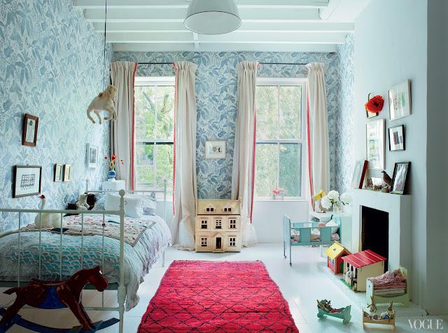 Дизайн детской комнаты для девочки пример