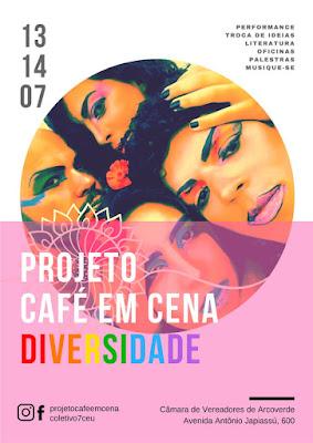 Projeto Café em Cena destaca a diversidade na sua nova edição