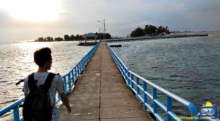 wisata bahari. konservasi dan agrowisata di pulau tidung kecil