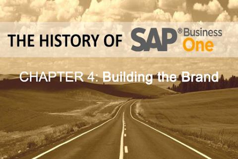 Lịch sử SAP Business One (Phần 4): Xây dựng thương hiệu