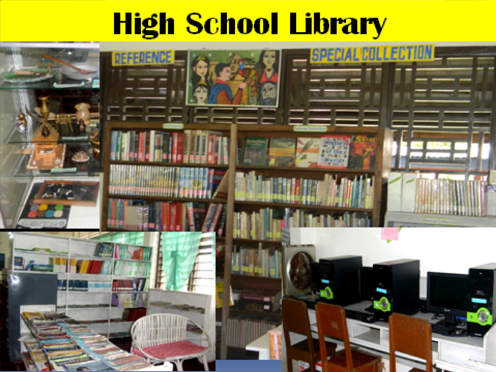 Southern Christian College High School Library