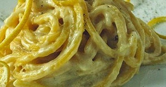 Ricette on line spaghetti cremosi all aroma di limone for Ricette on line