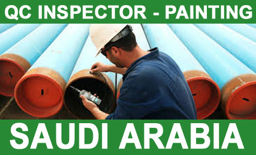 Painting QC Inspector Jobs in Saudi Arabia