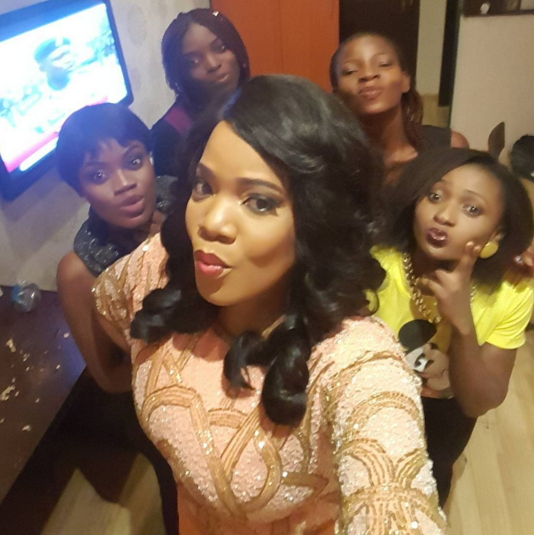 toyin aimakhu party fans