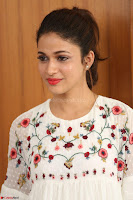 Lavanya Tripathi in Summer Style Spicy Short White Dress at her Interview  Exclusive 238.JPG