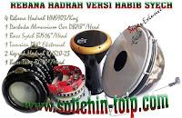 Rebana Hadrah versi Habib Syech menggunakan Darbuka Almunium Cor