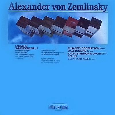 Music Is The Best Alexander Von Zemlinsky Lyrische Symphonie Op