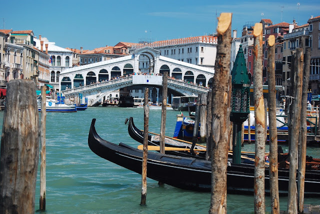 grand canal et Rialto Venise