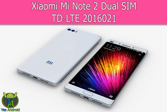 Xiaomi Mi Note 2 Dual SIM TD-LTE 2016021 Full Specs Datasheet