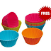 FREE Silicone Baking Cups From Baked & Delicious