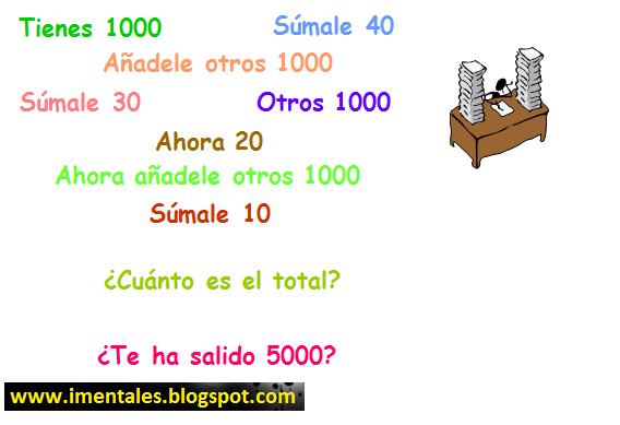 Matematica Rapida Juegos Mentales