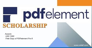 PDFelement Scholarship Contest