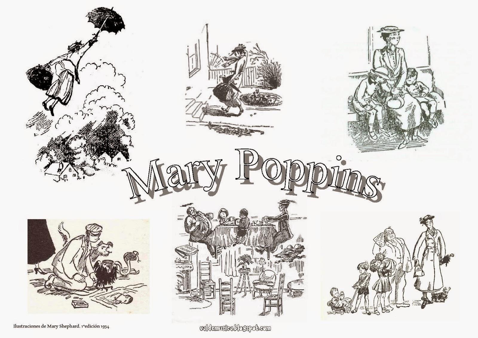 Mary Poppins Dibujos Para Colorear: VALDEMÚSICA: EL DOBLE CUMPLEAÑOS DE MARY POPPINS