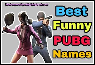 funny pubg names