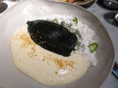 El Mero Mero, roasted poblano