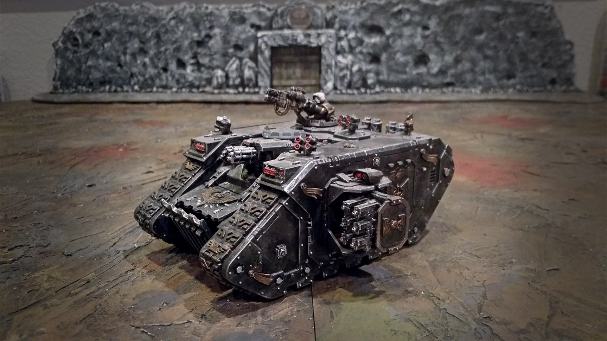 Space Marines Land Raider