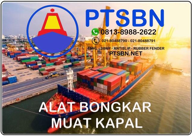 biaya bongkar muat kapal, tarif bongkar muat kapal di pelabuhan tanjung priok, alat bongkar muat kapal