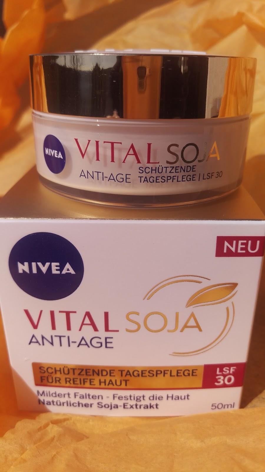 Kessi´s Test Blog: NIVEA Vital Soja