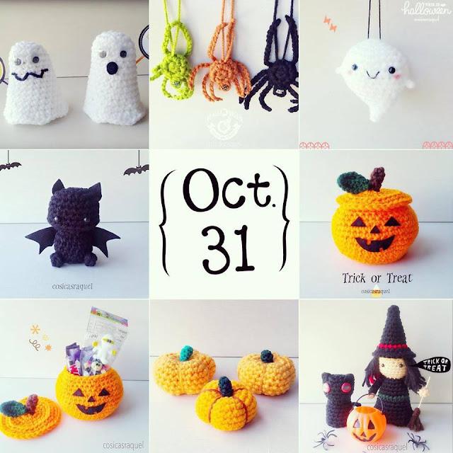 cosicasraquel: 10 Patrones Crochet para Halloween Gratuitos