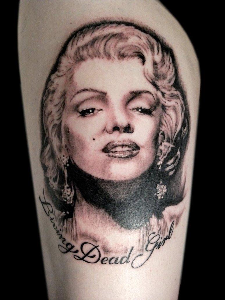 Marilyn Monroe Living Room Decorations: Drursus: Celeb Tattoos Designs Of Marilyn Monroe Tattoo