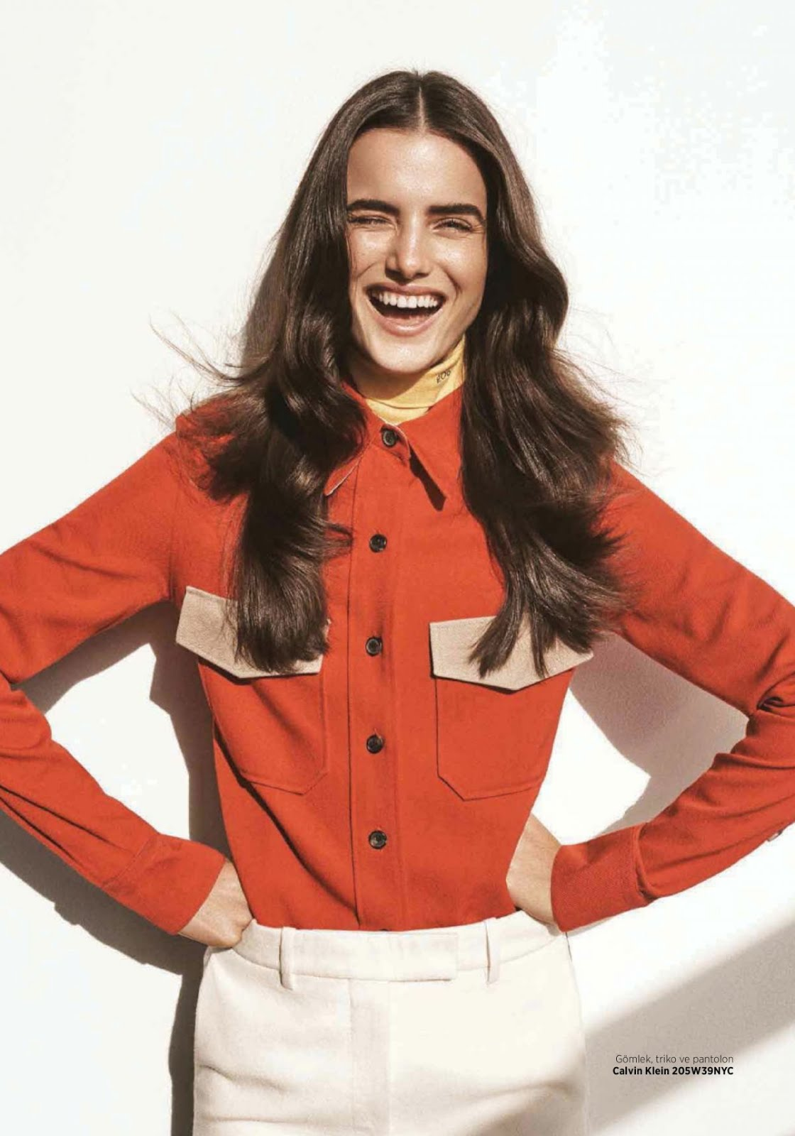 Full HD Wallpapers & Photos of Blanca Padilla for Harper's Bazaar Magazine Turkey January 2018