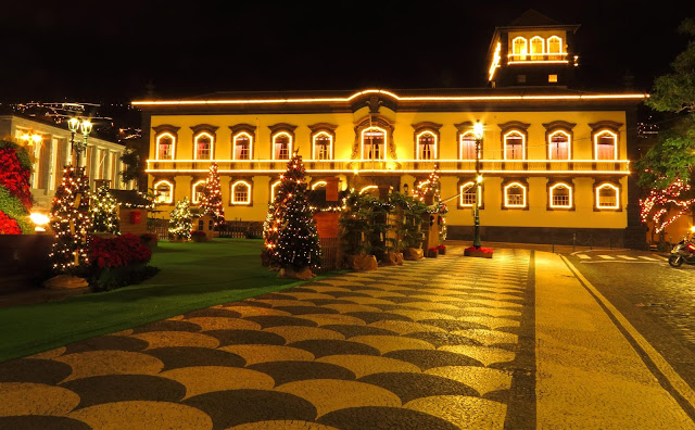 an enchanted city to celebrate Christmas and New Year