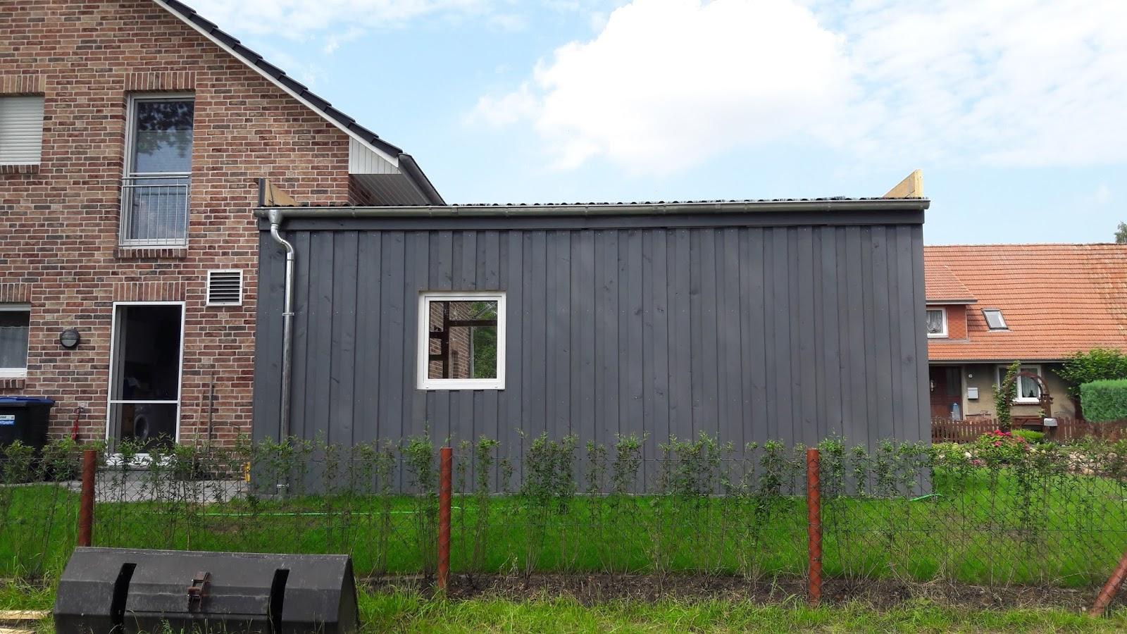 ein traumhaus f r familie s step by step zum carport 5 die w nde. Black Bedroom Furniture Sets. Home Design Ideas