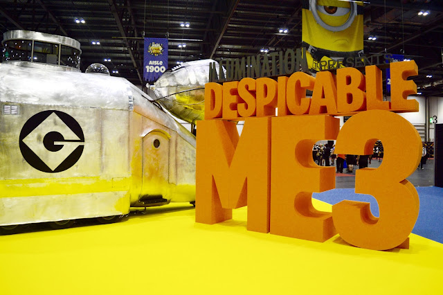 Despicable Me 3 Comic Con
