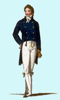 Aylwen Gardiner-Garden: Men's Regency Tailcoats