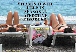 Vitamin D Will Help In Seasonal Affective Disorder.