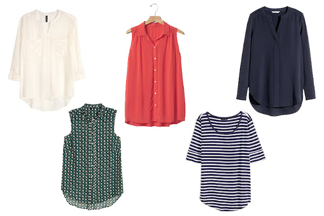 Spring/Summer Capsule Wardrobe: Five Tops for Work from Honey and Smoke Studio