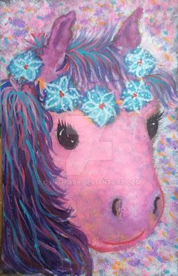 Cynthia R-artedonypasion-costarica-pinkhorse-pinkprincess