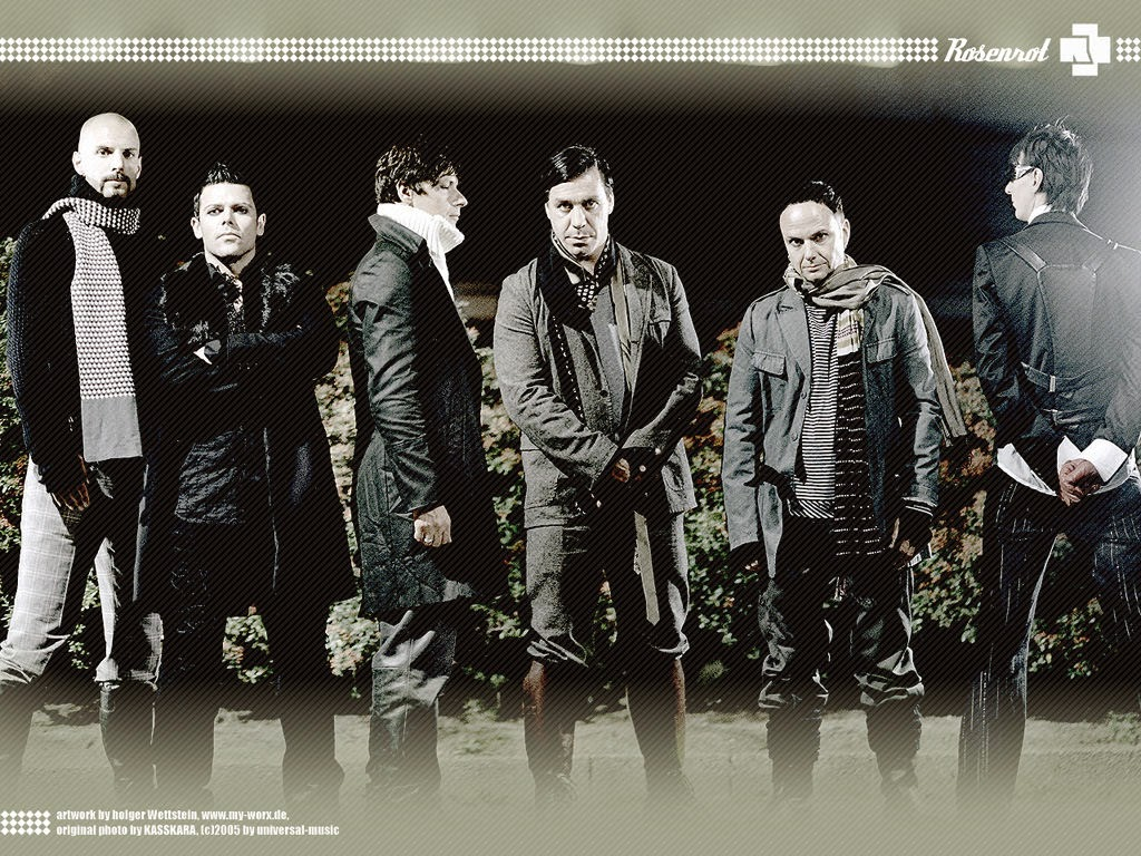 Rammstein (pronounced [ˈʀam.ʃtaɪ̯n]) is a Neue Deutsche Härte/industrial metal band formed in Schwerin, Germany.http://www.jinglejanglejungle.net/2015/02/eu5.html #Rammstein