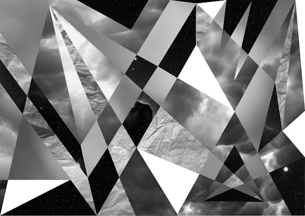 Graphic Design And Art Direction Geometric Galaxy