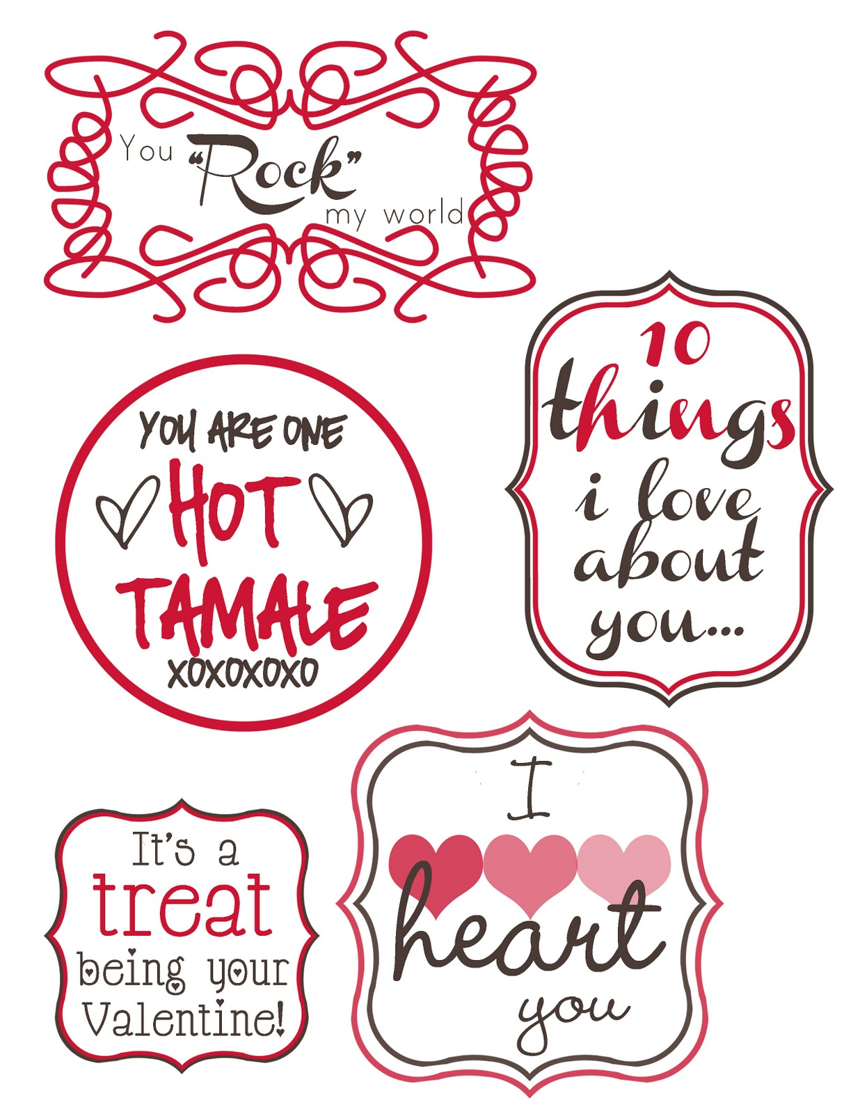 Mommy By Day Crafter By Night 14 Days Of Valentines Free Printables