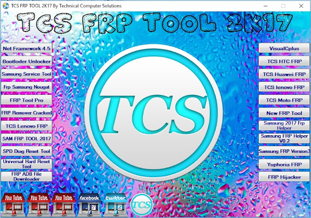 TCS FRP Tool 2K17 Free Download