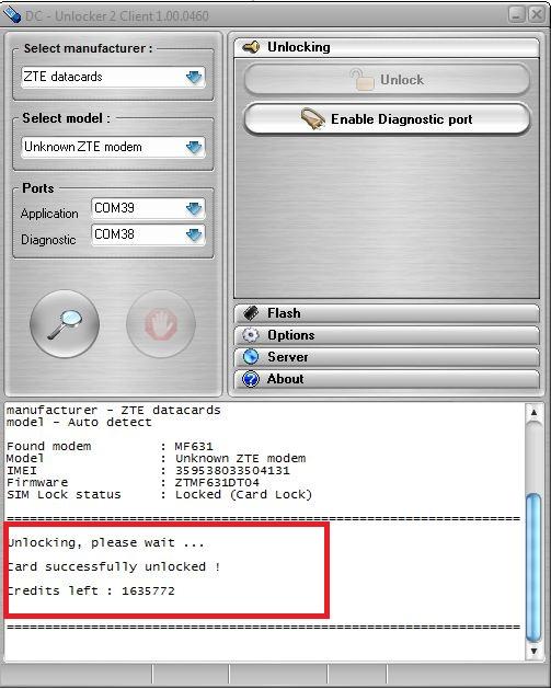 UNLOCK: How to unlock TATA Docomo Huawei 3G dongle