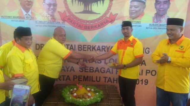 'Partai Berkarya Kota Tangerang Selatan Menyantuni Anak Yatim dan Dhuafa'
