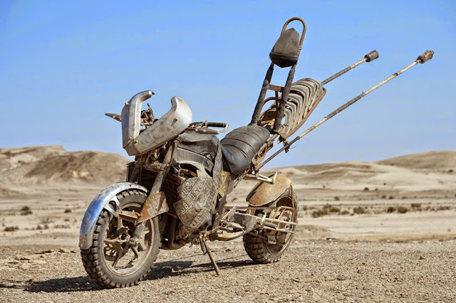Motorcycle from Mad Max 8