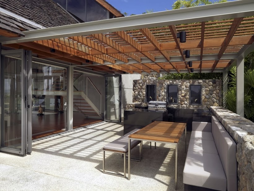 World Of Architecture Villa With Contemporary Asian