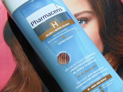 Specjalistyczny szampon przeciwłupieżowy do skóry wrażliwej - łupież suchy, Pharmaceris