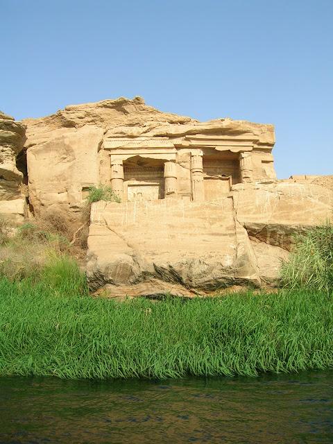 Capillas talladas en la roca, Gebel El-Silsila