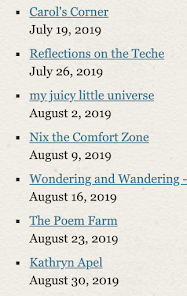 POETRY FRIDAY ROUNDUP-2019