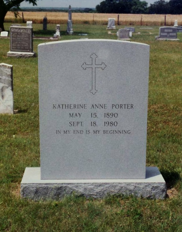 the grave by katherine anne porter Theft is a short story written by katherine anne porter, published in a 1952 collection, 50 short stories the themes of the story are emptiness, money (and the.