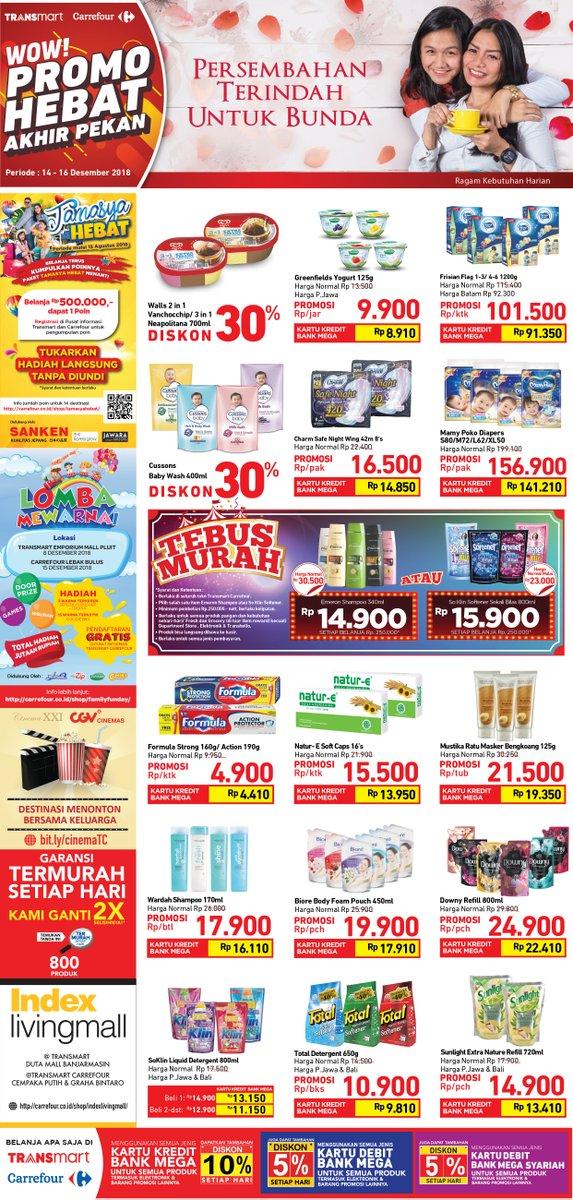 Carrefour - Promo Katalog JSM Periode 14 - 16 Desember 2018