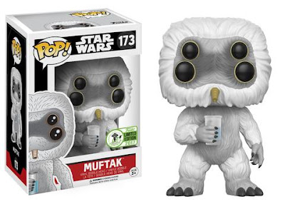 Emerald City Comicon 2017 Exclusive Star Wars Muftak Pop! Vinyl Figure by Funko
