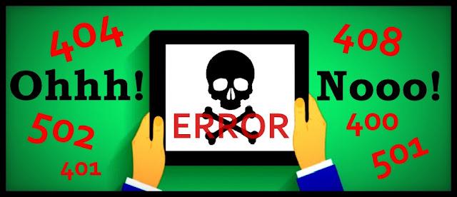 Status Error Code Dan Cara Mengatasinya