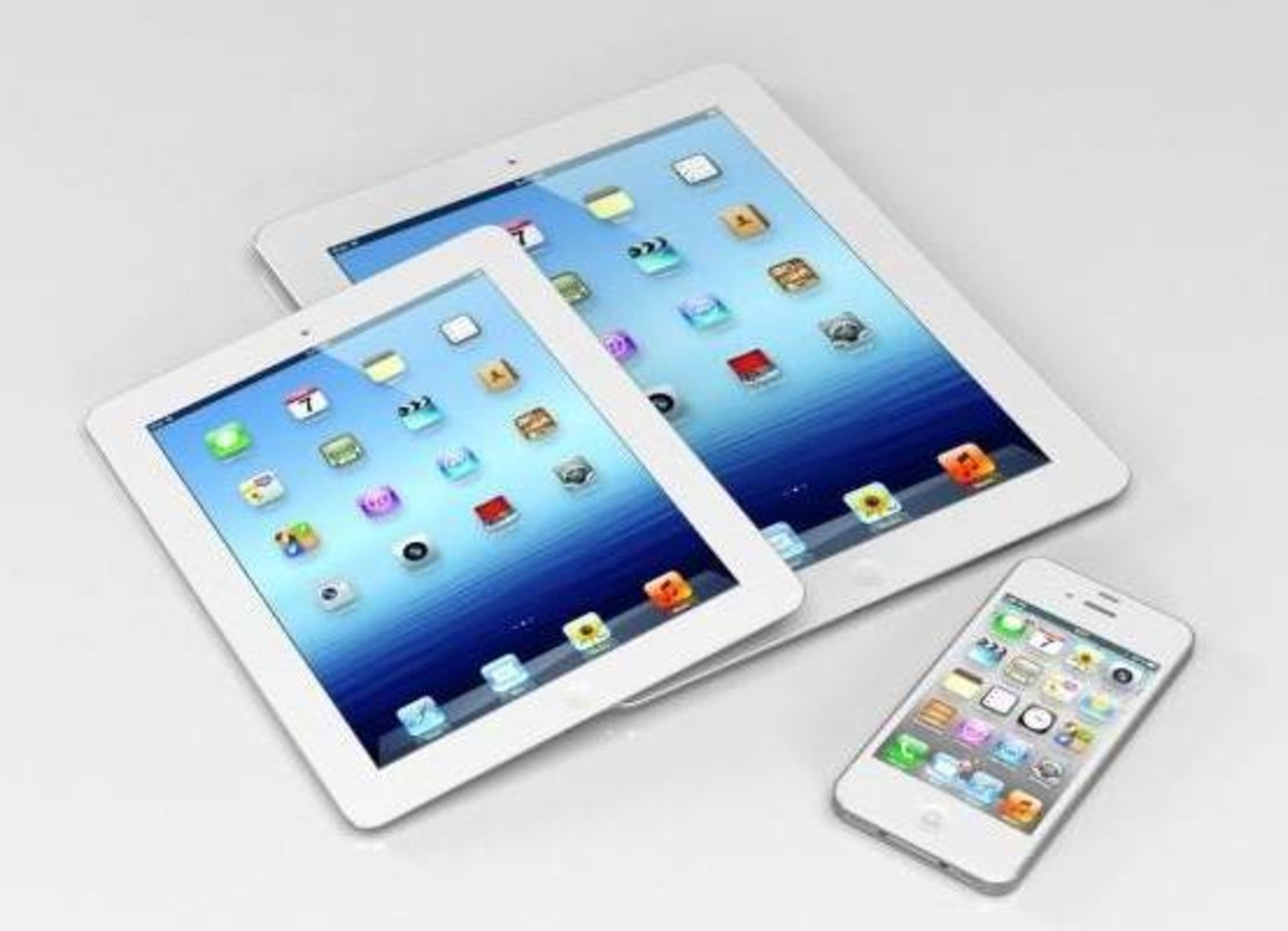 apple iphone and i pad